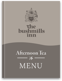 Bushmills Afternoon Tea Menu