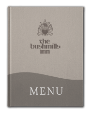 Bushmills Inn Restaurant Menu