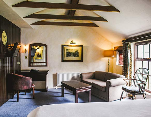 The Mill House Classic Room with Sofa and Seating Area