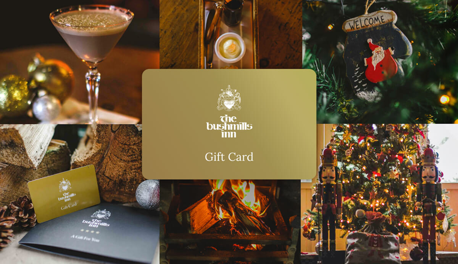 Give the Gift of Indulgence with The Bushmills Inn