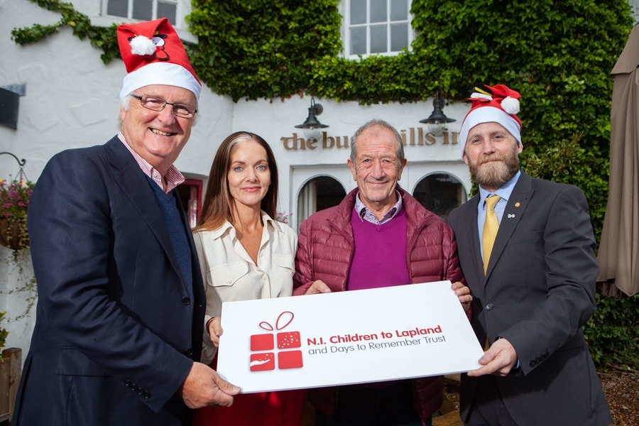 The Bushmills Inn announces partnership with NI Children to Lapland