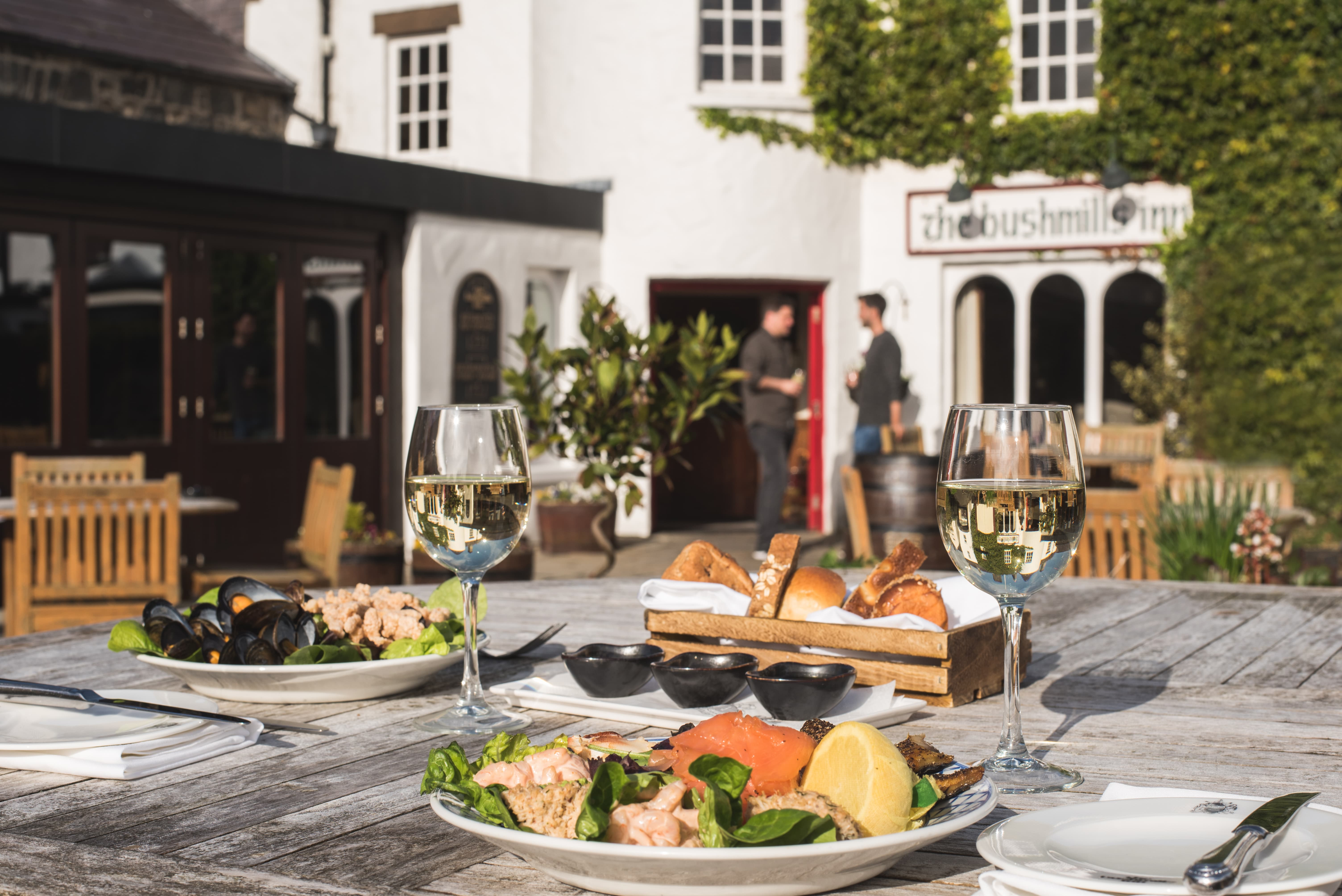 Summer Dining at The Bushmills Inn